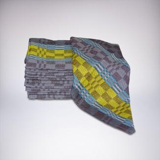 Uterák bavlneny PTK KARO 50x100 (mix 2 farieb-svetla/tmava)