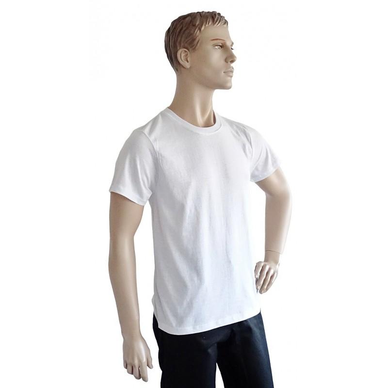 Tričko biele KR Standart 150g/m2