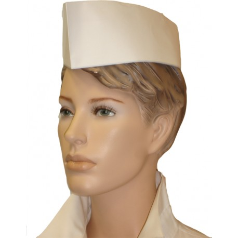 Kuchárska čapica lodička papier